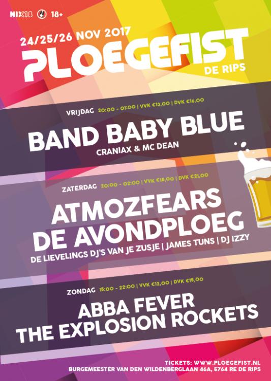 Poster Ploegefist 2016